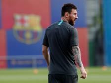 Messi fit genoeg voor duel met Borussia Dortmund