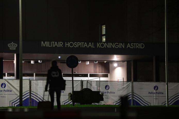 Huit Belges rapatriés de Chine avaient été mis en quarantaine à l'hôpital militaire de Neder-over-Heembeek.