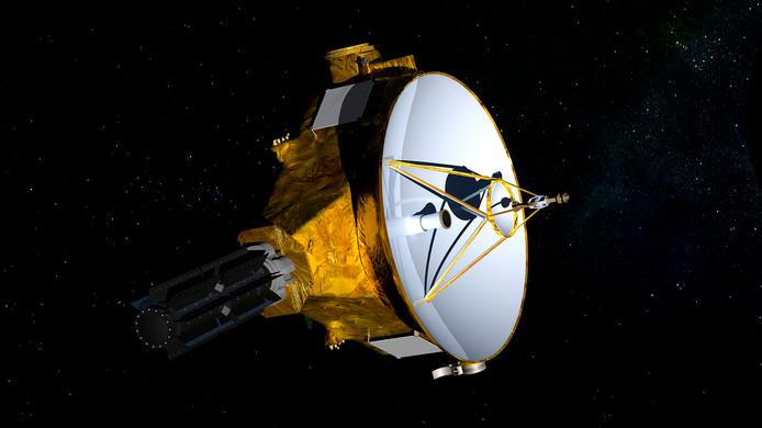 De New Horizons sonde