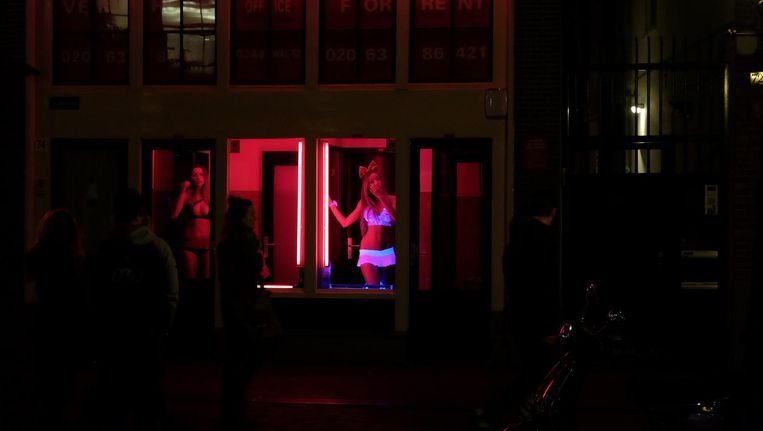 Sinds het bordeelverbod is opgeheven is sekswerkbeleid vooral lokaal beleid Beeld Getty Images
