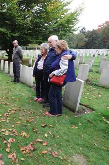 Familie kan eindelijk naar graf van Engelse oom die vocht in oorlog
