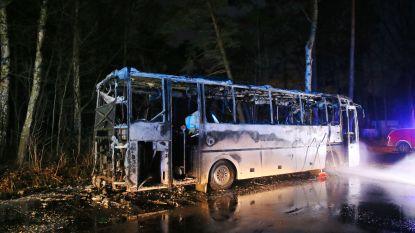 Schoolbus brandt uit in Kalmthout: niemand aan boord