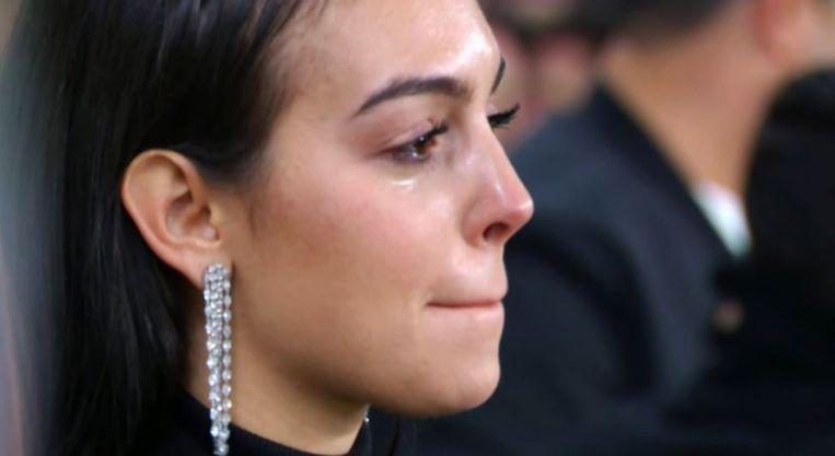 Georgina Rodriguez hield het niet droog na de fabelachtige hattrick.