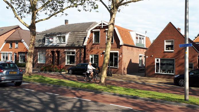 De woningen Haarstraat 74-86 maken plaats voor een appartementengebouw.