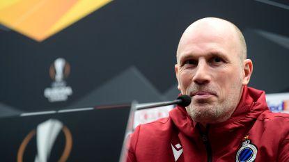 KIJK LIVE. Philippe Clement blikt vooruit naar terugmatch tegen Manchester United