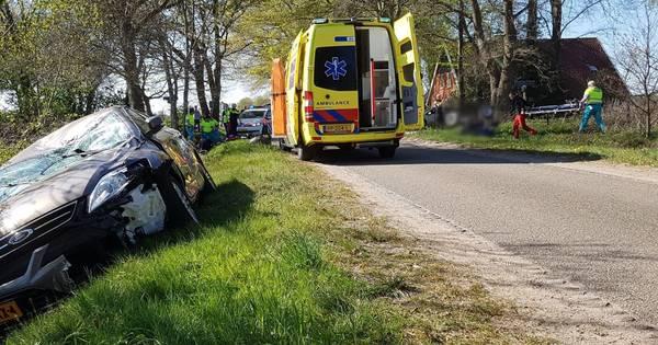 Quadrijder met traumahelikopter naar ziekenhuis na ongeluk in Manderveen.