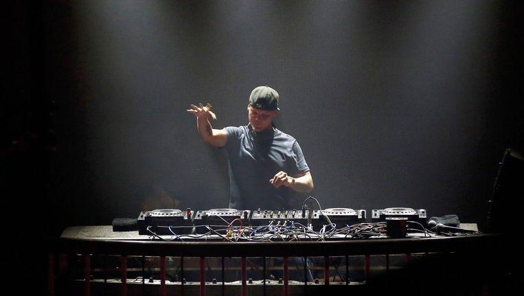Avicii tijdens een optreden in San Francisco, 2016 Beeld Rich Polk/Getty Images