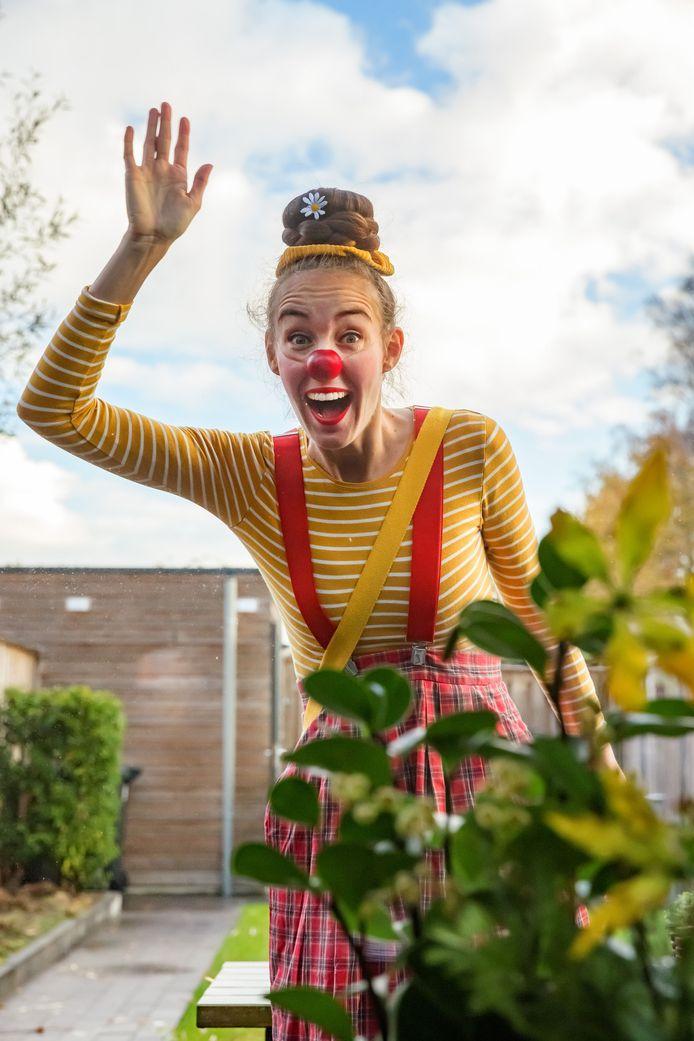 """Saskia Kruis als Clown Sis: ,,Het gaat niet alleen om het grappig zijn, het is veel meer dan dat."""""""