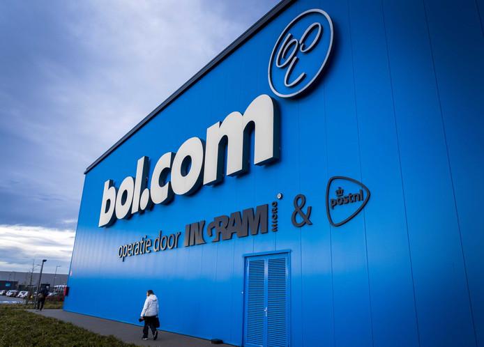 Het distributiecentrum van Bol.com