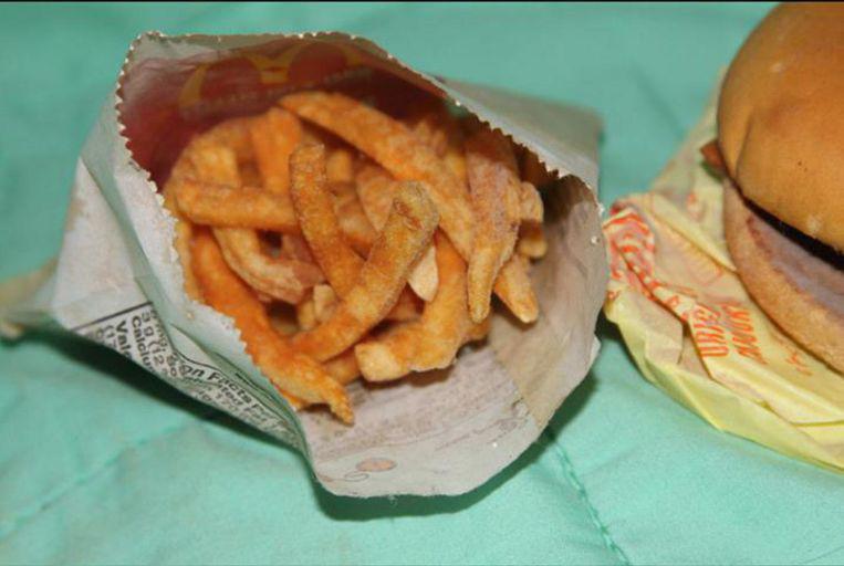 Zes jaar oude frietjes zien eruit alsof ze dezelfde dag zijn gekocht.