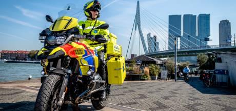 Steile trappen of het strand: nieuwe ambulancemotor kan alles aan