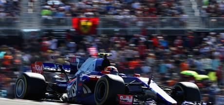 Gasly en Hartley rijden Toro Rosso in Mexico