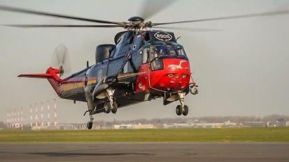 SeaKing 'aan land getrokken' bij Vlaams Luchtvaartopleidingscentrum, gedemonteerde Falcon 20 opnieuw in elkaar gestoken