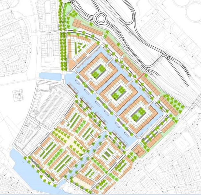 De straten en hofjes in het nieuw te bouwen deel van het Waterfront worden vernoemd naar Harderwijker vissers.