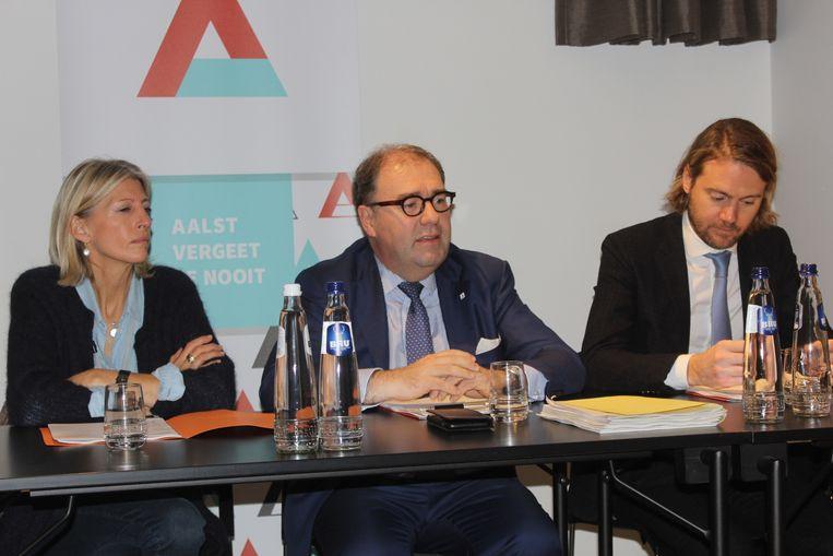 Ilse Uyttersprot, Christoph D'Haese en Jean-Jacques De Gucht.