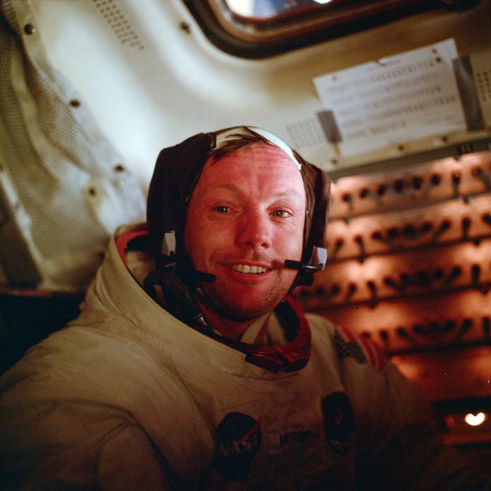 Neil Armstrong, de eerste mens op de maan