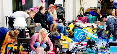 Vrijmarkt begonnen in Utrecht