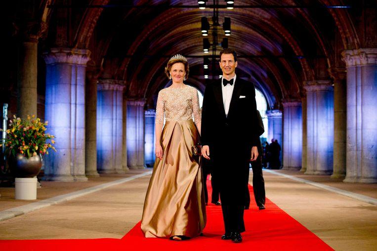 Kroonprins Alois van Liechtenstein en zijn wederhelft.