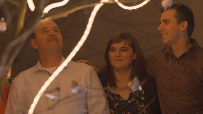 Eerste Kerst zonder mama: de kinderen van Marnix zorgen voor een hartverwarmend moment