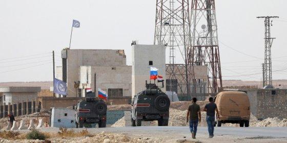 Russische troepen vormen buffer tussen Turkije en Assads troepen in Noord-Syrië