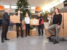 Mill Hill helpt Quiet Tilburg aan ruim honderd voedselpakketten
