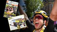 """Buitenlandse pers vol lof over """"nieuwe parel"""" Van Aert, Armstrong vraagt zich af: """"Wat kan hij niét?"""""""