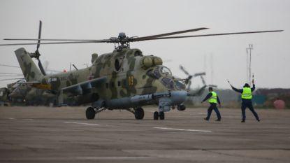 Bemanning Russische legerhelikopter komt om bij crash