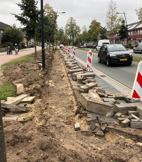 Info over Hobostraat Uden wel gegeven, parkeervakken breed genoeg