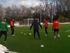 Van de Pavert en Joppen terug op het trainingsveld bij NEC