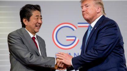 Voorlopig handelsakkoord tussen VS en Japan