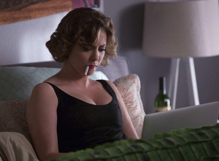 Rachel Bloom als Rebecca in Crazy Ex-Girlfriend. Beeld