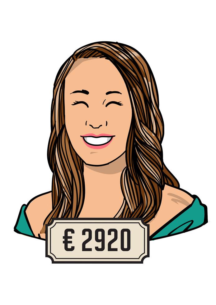 Michelle Beijer verdient 2920 euro voor vier dagen werk als fysiotherapeut.