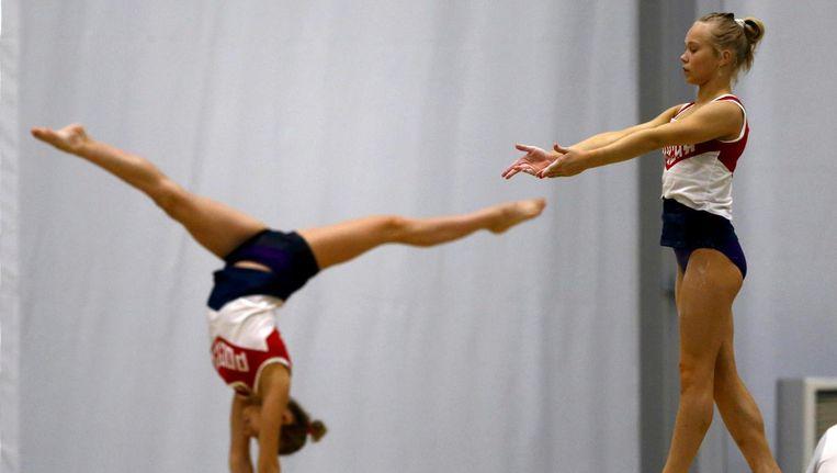 Olympische sporters trainen voor Rio. Beeld photo_news