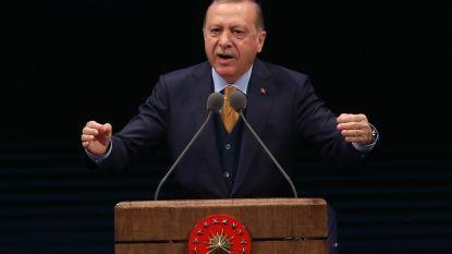 """Erdogan: """"Amerikaans terreurleger  in Syrië moet in de kiem gesmoord worden"""""""