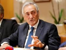 Le président de la fédération italienne n'exclut pas de terminer la Serie A en octobre