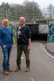 Kunstwerk vervangt 'kliederboel' in op te knappen tunnel bij Stegeren