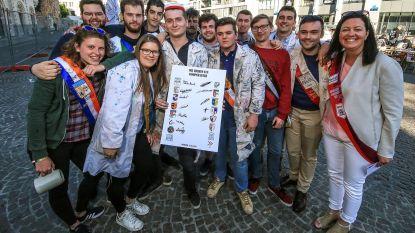 Alle Kortrijkse studentenverenigingen scharen zich achter Vlaams doopcharter