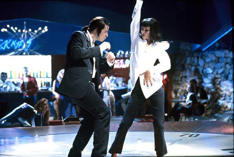 Dansscène in Pulp Fiction. Beeld