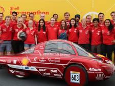 Green Team Twente racet in Londen met nieuwe waterstofauto