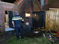 Bewoner wakkergemaakt door buurt na brand in schuur Tilburg