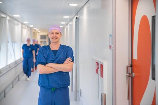 Chirurg-oncoloog Pim Burger.