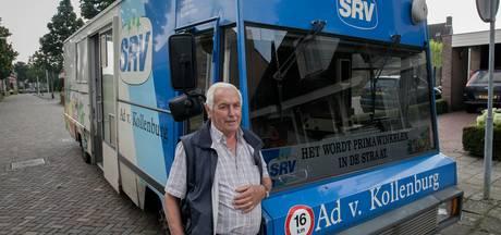 SRV-man Ad van Kollenburg in Best rijdt nog wel even door