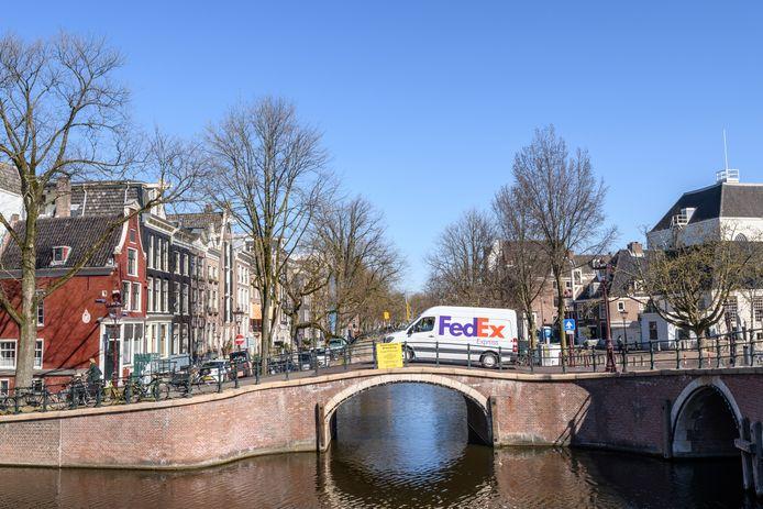 De Keizersgracht in Amsterdam, afgelopen week.