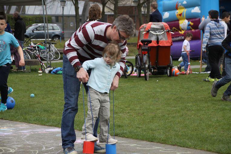 Met wat hulp lukt het beter, in Turnhout.