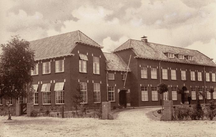 Foto uit de tentoonstelling Ora et labora in Deurne.
