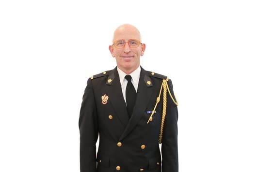 Roel de Graaf, postcommandant bij Brandweer Bunschoten.