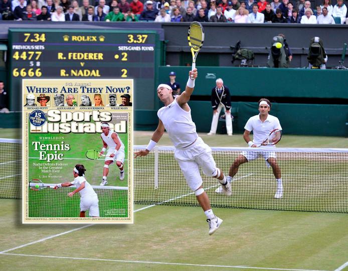 Rodger Federer - Rafael Nadal in 2008.