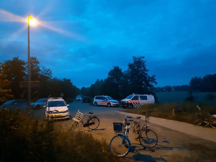 Illegale bosfeesten in Zwolle