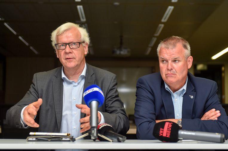 Gouverneur Lodewijk De Witte en burgemeester van Londerzeel, Jozef De Borger.