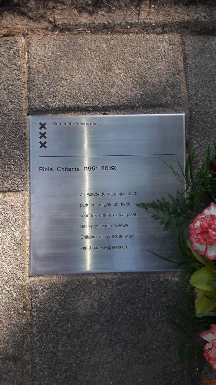 Gedenkteken Rinia Chitanie